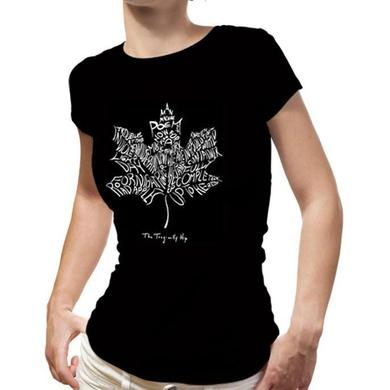 The Tragically Hip Ladies Leaf Tee
