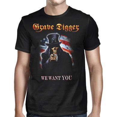 Grave Digger Uncle Sam 2016 Dates T-Shirt
