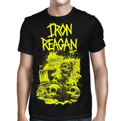 Iron Reagan Capital Skulls T-Shirt