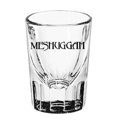 MESHUGGAH Black Logo Shot Glass