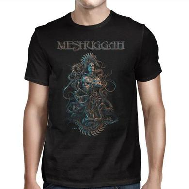 MESHUGGAH The Violent Sleep 2016 Tour T-Shirt