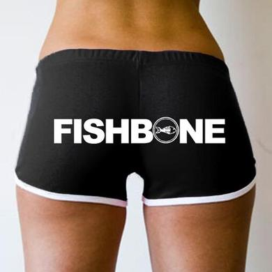 Fishbone Logo Ladies Running Shorts