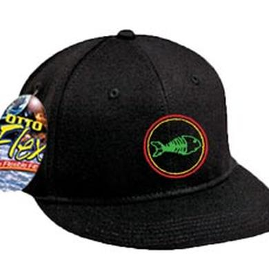 Fishbone Fish Logo Flex Fit Hat