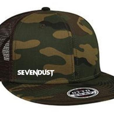 Sevendust Embroidered Logo Snapback Hat
