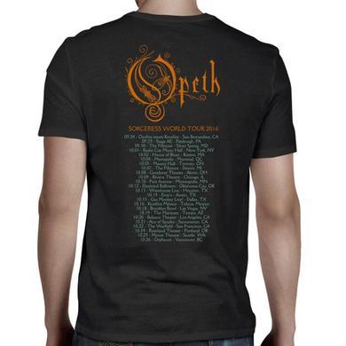 Opeth Sourceress 2016 Tour T-Shirt