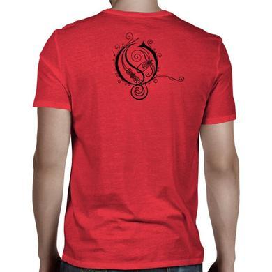 Opeth Red O Logo T-Shirt