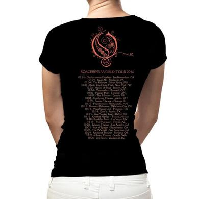 Opeth Persephone 2016 Tour Ladies Tee