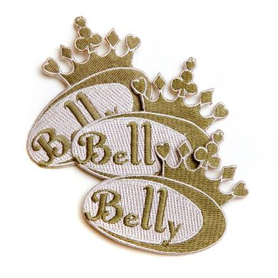 Belly Embroidered Patch