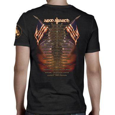 Amon Amarth Sea of Blood Tour Dates T-Shirt
