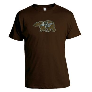 The Tragically Hip What`s Troubling Gus? Brown T-shirt