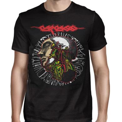 Carcass Anatomy Head Tools 2016 Tour T-Shirt