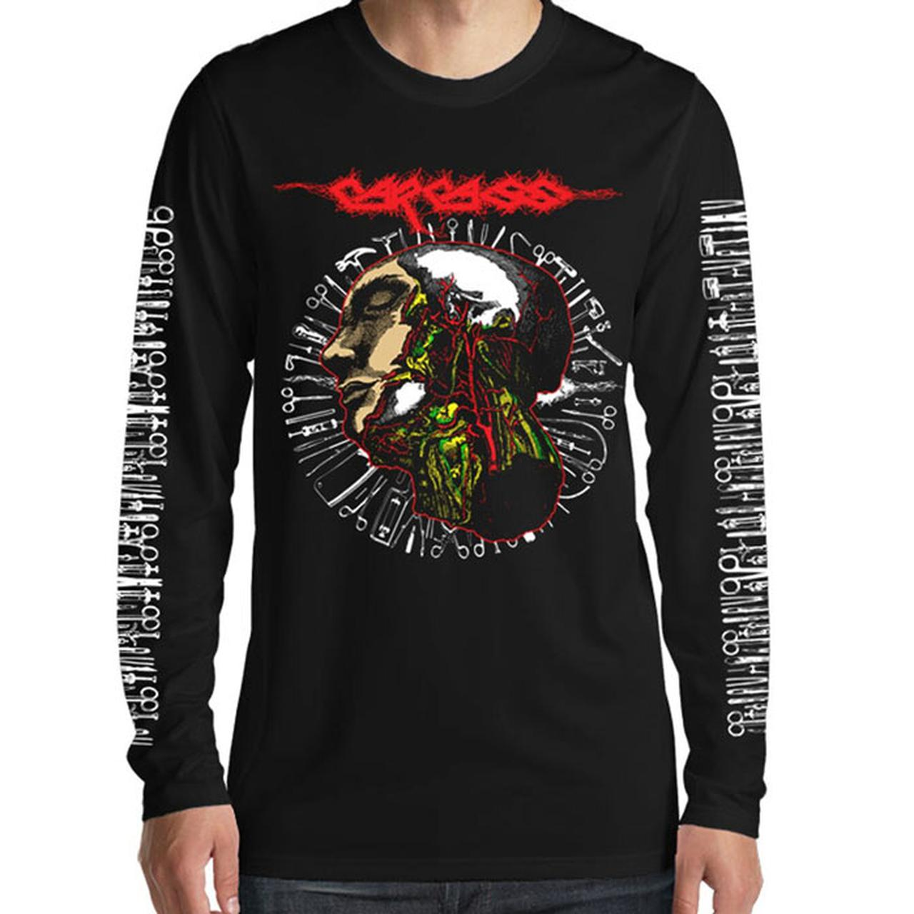 Carcass Anatomy Head Tools 2016 Tour Long Sleeve Tee