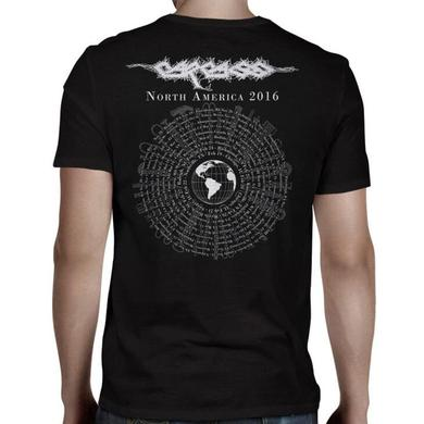 Carcass Rotting All Over 2016 Tour T-Shirt