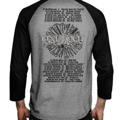 Carcass Eagle One Foot 2016 US Tour Raglan