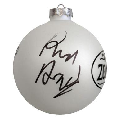 The Zombies Autographed Christmas Ornanment