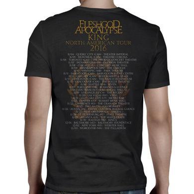Fleshgod Apocalypse King 2016 Tour T-Shirt
