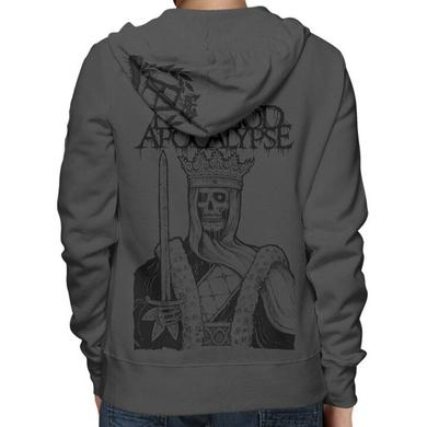 Fleshgod Apocalypse Emblem Dead King Zip Hoodie