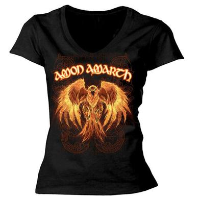 Amon Amarth Buring Eagle Ladies Tee
