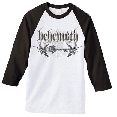 Behemoth Band Logo Raglan