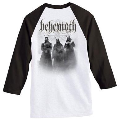 Behemoth Band Logo Raglan