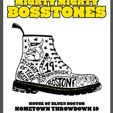 Mighty Mighty Bosstones Hometown Throwdown Poster