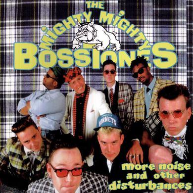 Mighty Mighty Bosstones More Noise LP Yellow Vinyl