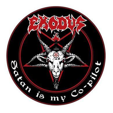 Exodus Satan is My Co-Pilot Air Freshener