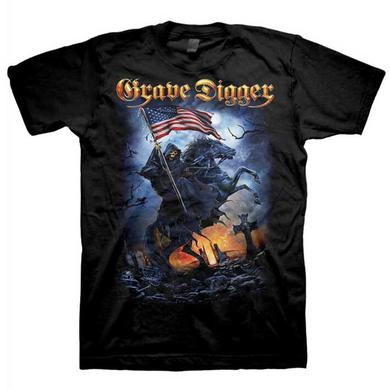 Grave Digger USA 2015 Tour Dates T-Shirt
