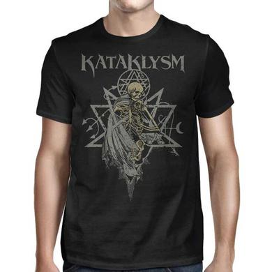 Kataklysm Skeleton Tribal Pentagram T-Shirt
