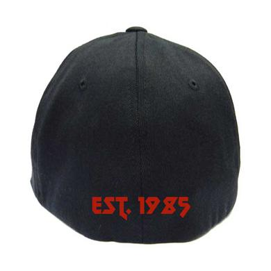 Kreator Embroidered Red Logo Flex Fit Hat