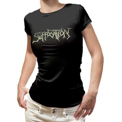 Suffocation Pinnacle Logo Ladies Tee