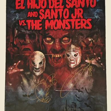 """El Hijo del Santo Santo Autographed Poster - 18"""" X 24"""""""