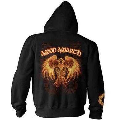 Amon Amarth Burning Eagle Zip Hoodie