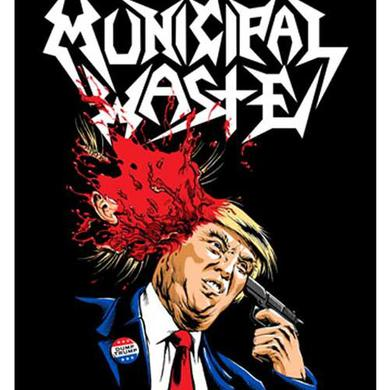 Municipal Waste Trump Poster Flag