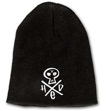 Hed PE Embroidered Skull Beanie