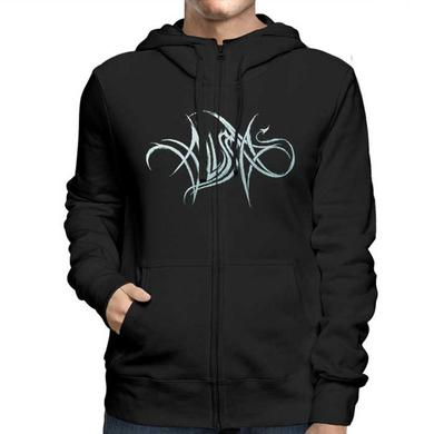 Alissa White-Gluz Photo Logo Zip Hoodie