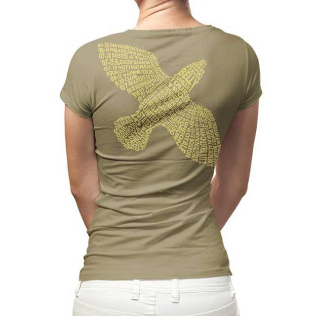 Belly Logo Bird 2016 Dates Ladies Tee