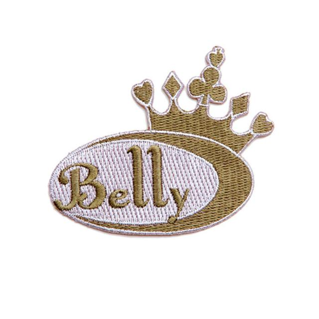 Belly Logo Embroidered Patch