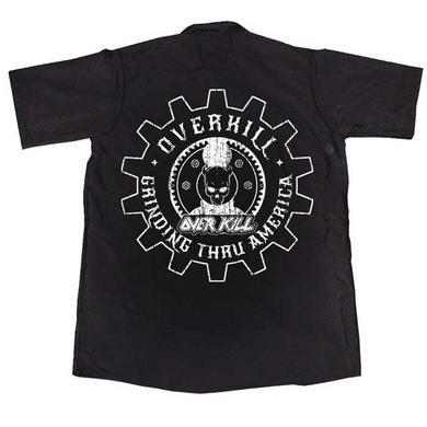 Overkill Embroidered Gear Logo Workshirt