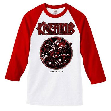 Kreator Pleasure to Kill Raglan