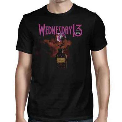 Wednesday 13 Flower in Vase T-Shirt