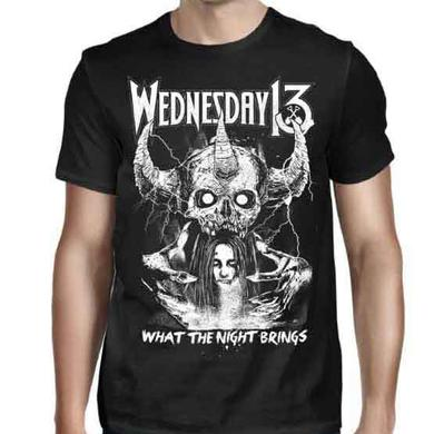 Wednesday 13 What the Night Brings T-Shirt