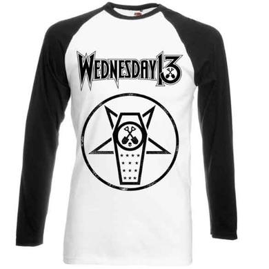 Wednesday 13 Casket Baseball T