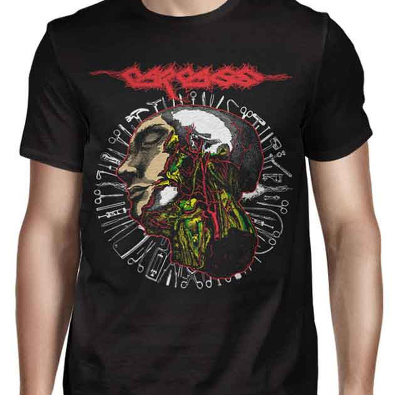 Carcass Anatomy Head Tools 2016 Tour T Shirt