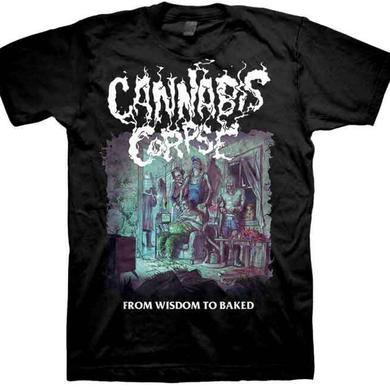 Cannabis Corpse From Wisdom To Baked T-Shirt