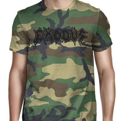 Exodus Metal Command Camo T-Shirt