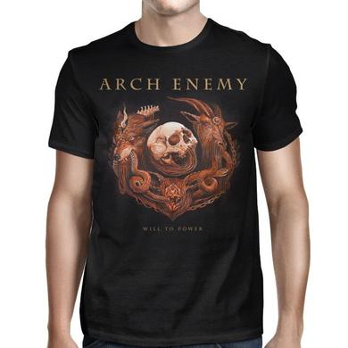 Arch Enemy Will To Power Album Cover T-Shirt