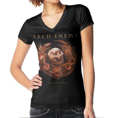 Arch Enemy Will To Power Album Cover Ladies Tee