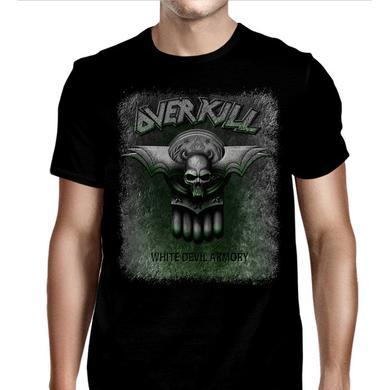 Overkill White Devil Armory Dates T-Shirt