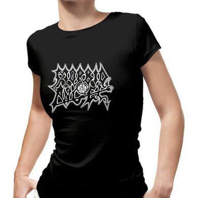 Morbid Angel Black Logo-blaphagram Ladies T